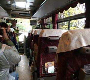 土木研究所一般公開 バスの中